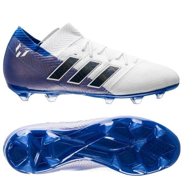 2bbc31c2577 adidas Nemeziz Messi 18.1 FG AG Team Mode - Footwear White Core ...