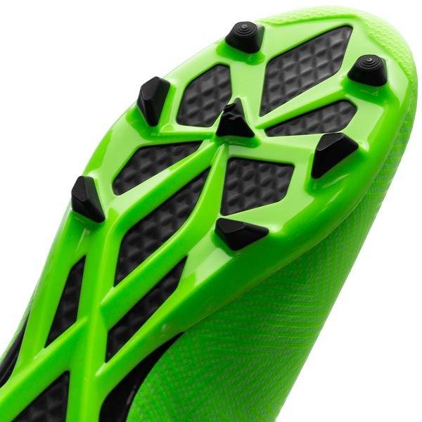 0ba3b3e1d adidas Nemeziz Messi 18.3 FG AG Energy Mode - Green Black Kids