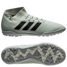Image of   adidas Nemeziz Tango 18.3 TF Spectral Mode - Sølv/Sort/Hvid Børn