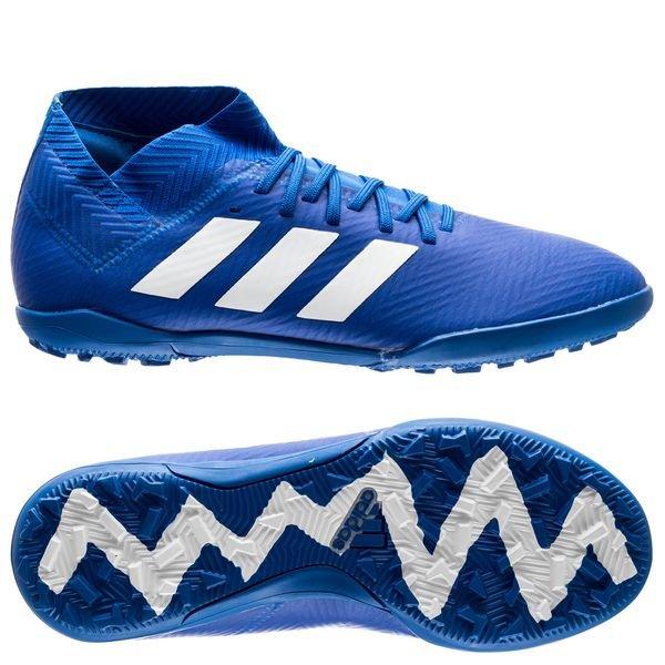 adidas Nemeziz Tango 18.3 TF Team Mode BlauWeiß Kinder