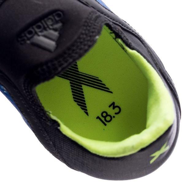 Adidas X 18.3 FG bleu jaune WbXkb