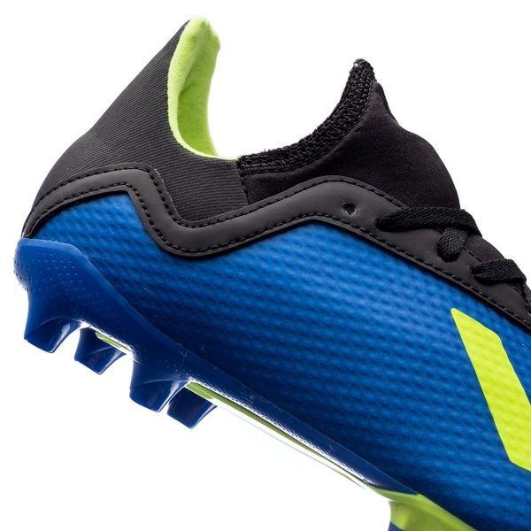 adidas X 18.3 FGAG Energy Mode BlauGelb Kinder | www