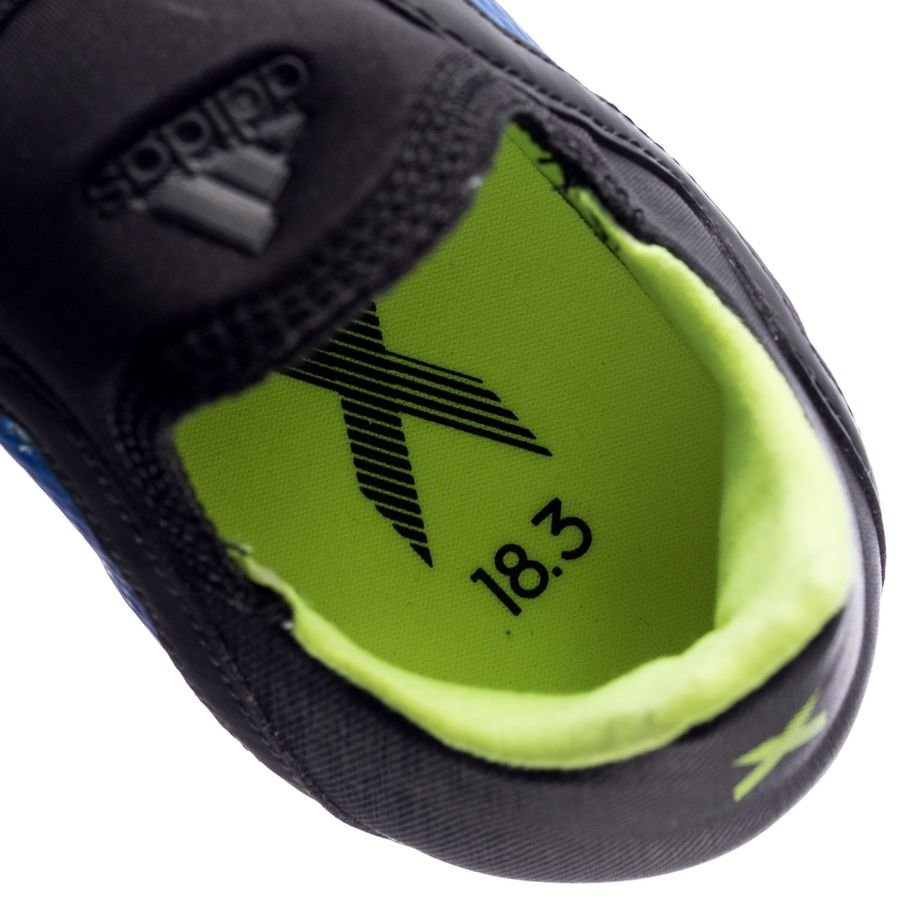 various colors 35da6 2df4e adidas x 18.3 fgag energy mode - bluesolar yellow kids - football