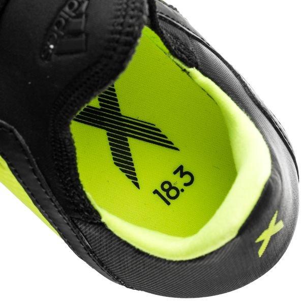 adidas X 18.3 FGAG Team Mode JauneNoirBlanc Enfant