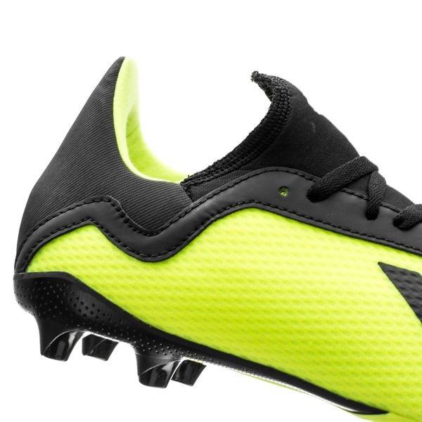 uk availability 8e92a 6e613 ... adidas x 18.3 fgag team mode - geelzwartwit kinderen ...