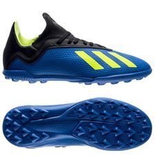 adidas X Tango 18.3 TF Energy Mode - Blå/Gul Barn