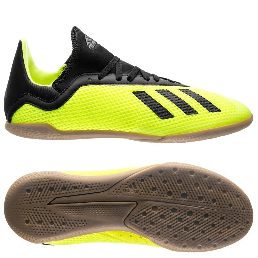adidas X Tango 18.3 IN Team Mode - Jaune/Noir Enfant