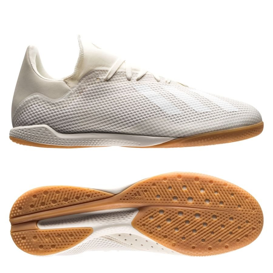 adidas X Tango 18.3 IN Spectral Mode - Blanc/Doré