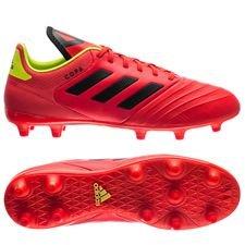 adidas Copa 18.3 FG/AG Energy Mode - Rood/Geel
