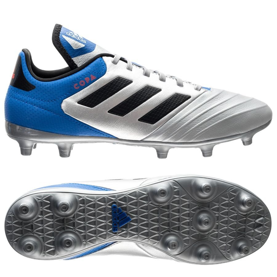 sports shoes 6031c 554fb adidas copa 18.3 fgag team mode - silver metalliccore blackblue ...