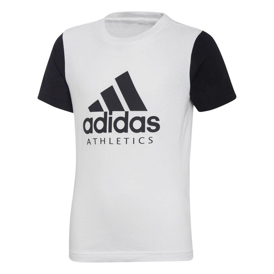 adidas T-Shirt SID - Hvid/Sort Børn