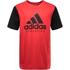 Image of   adidas T-Shirt SID - Rød/Sort Børn