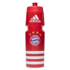 bayern münchen drinks bottle - fcb true red/white - drinks bottles
