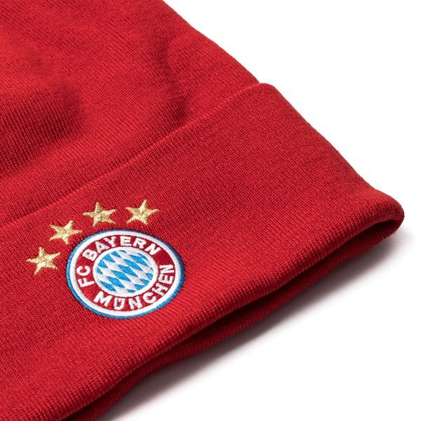 2b1ed8a2ae6 ... bayern münchen beanie - fcb true red white - hats ...
