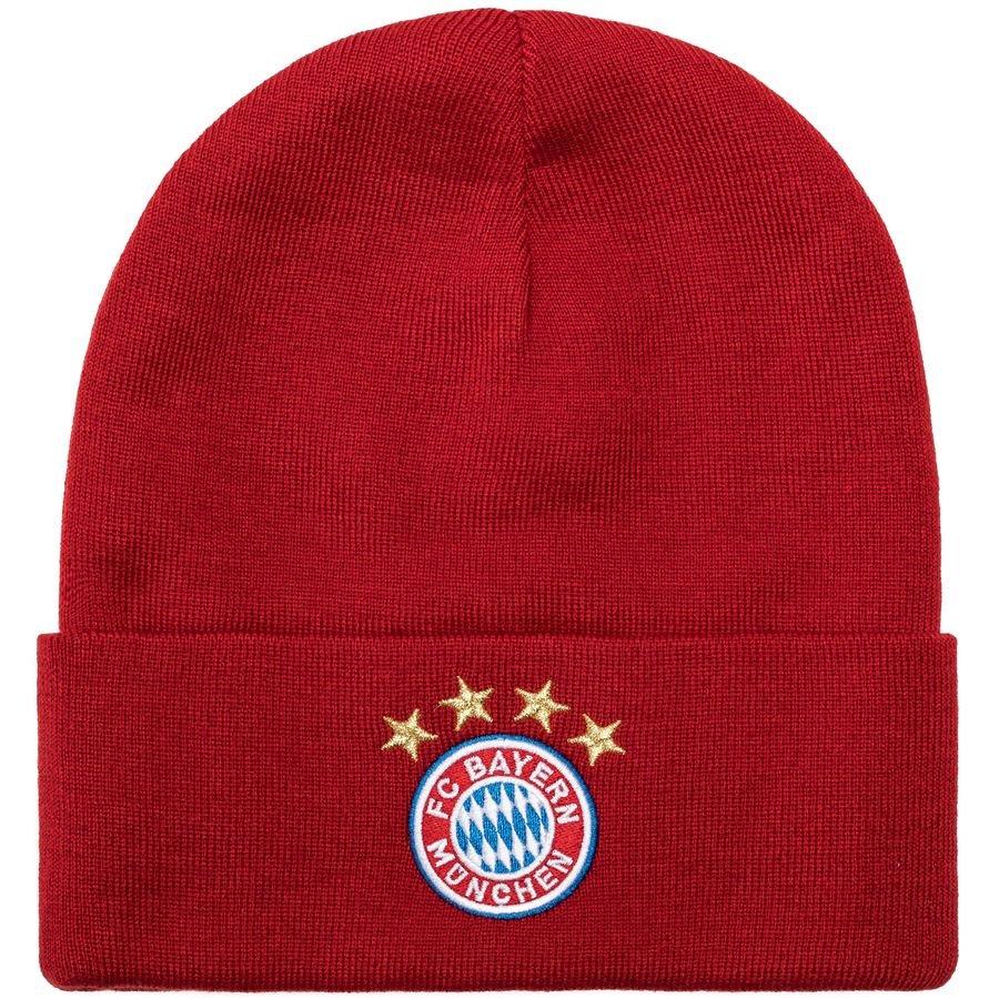 557193a5f35 bayern münchen beanie - fcb true red white - hats
