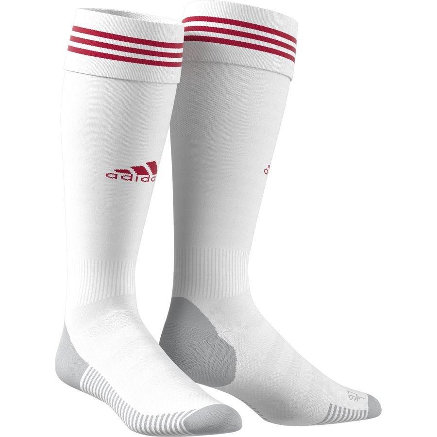 adidas Fodboldsokker Adisock 18 - Hvid/Rød