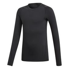 adidas Baselayer Alphaskin Sport Climawarm L/S - Black Kids