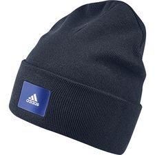 adidas hue logo - navy/blå - huer