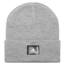 adidas hue logo - grå/sort - huer