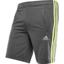 Image of   adidas Shorts 3S - Grå/Gul Børn