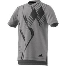 adidas t-shirt predator - grå/sort børn - t-shirts