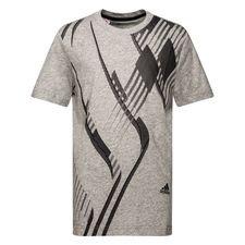 Image of   adidas T-Shirt Predator - Grå/Sort Børn