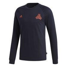 adidas t-shirt tango l/ä - navy - t-shirts