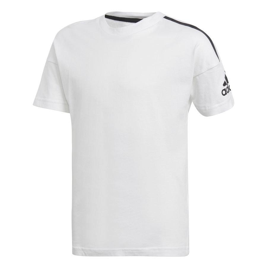 adidas T-Shirt Z.N.E. - Hvid/Sort Børn