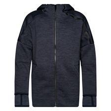 adidas luvtröja z.n.e. 3.0 - navy/svart barn - huvtröjor