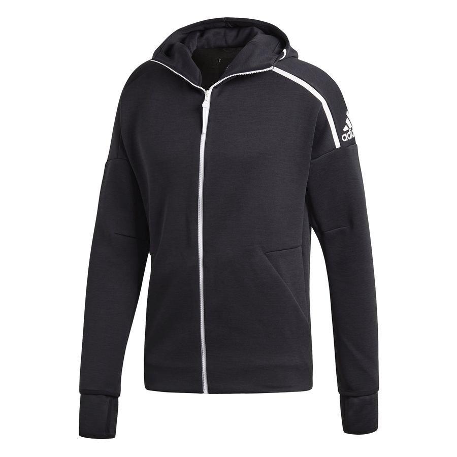 adidas Veste à Capuche FZ Z.N.E. 3.0 - Noir/Blanc