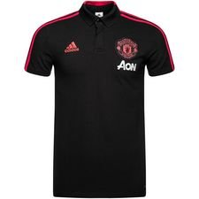 Image of   Manchester United Polo Condivo - Sort/Rød