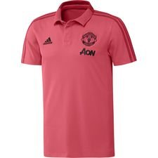 Image of   Manchester United Polo - Pink/Rød/Sort