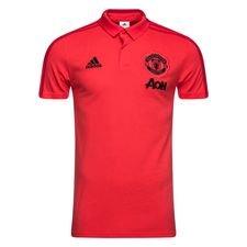 Manchester United Piké - Rosa/Röd/Svart
