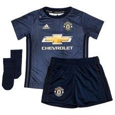 Manchester United Tredjetröja 2018/19 Mini-Kit Barn