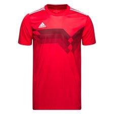 adidas matchtröja campeon 19 - röd/vit - t-shirts