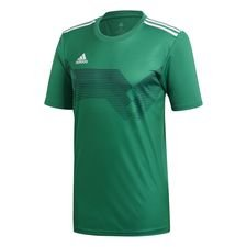 adidas spilletrøje campeon 19 - grøn/hvid - t-shirts