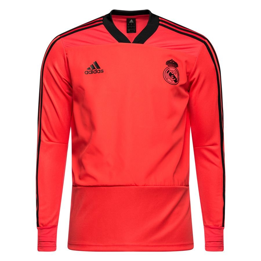 real madrid training shirt ucl - real coral black - training tops ... 54a6fbeff