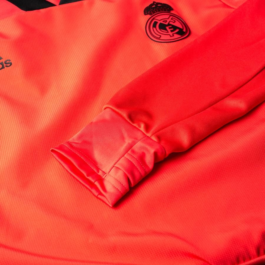 real madrid training shirt ucl - real coral black - training tops f94b7eb45