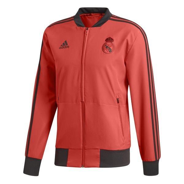 28be6c0d Real Madrid Jacket Presentation UCL - Real Coral/Black Kids | www ...