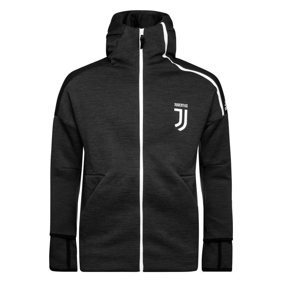 Juventus Sweat à Capuche Z.N.E. - Noir/Gris