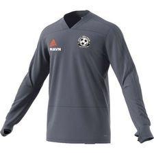gentofte fodbold akademi - træningstrøje grå/orange børn - træningstrøjer