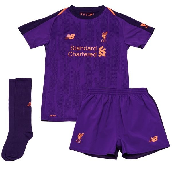 fc570419b 48.00 EUR. Price is incl. 19% VAT. Liverpool Away Shirt 2018 19 Mini-Kit  Kids