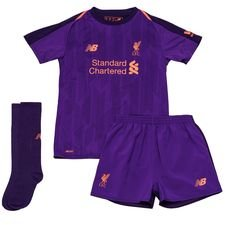Liverpool Away Shirt 2018/19 Mini-Kit Kids