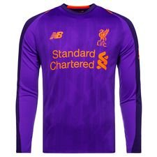 Liverpool Away Shirt 2018/19 L/S Kids