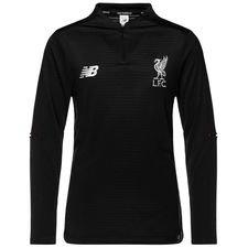 Liverpool Träningströja Midlayer Elite - Svart/Vit Barn