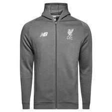 Liverpool Luvtröja FZ Elite - Grå/Vit Barn