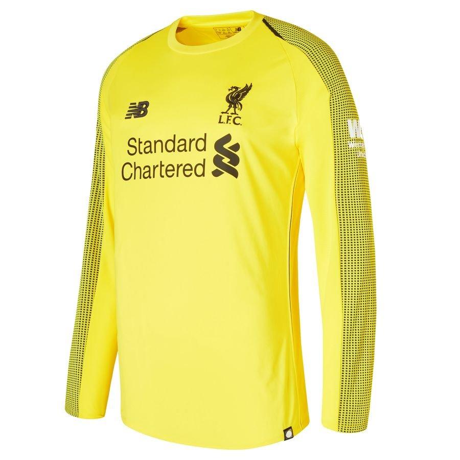huge discount 80d1e 40f1b Liverpool Goalkeeper Shirt Home 2018/19 Kids | www ...