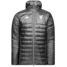 liverpool vinterjakke stadium elite - grå/hvid - jakker