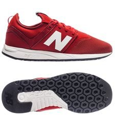new balance liverpool classic trainer 247 - rød/hvid - sneakers