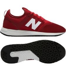 new balance liverpool classic trainer 247 - red/white - sneakers
